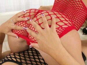 girls in fishnet