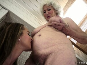 old and young lesbian