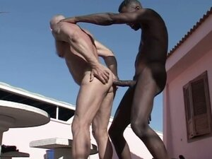 gay interracial from PornerBros